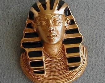 Erwin Pearl Egyptian Pharoah Brooch Pendant