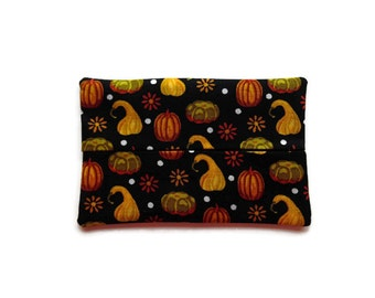 Fabric Tissue Holder - Fall Harvest Pumpkins and Gourds