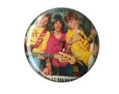 """Degrassi Junior High Jr Zit Remedy 1"""" ONE INCH Button Pin Pinback badge Canada teen TV shows cult coming of age"""