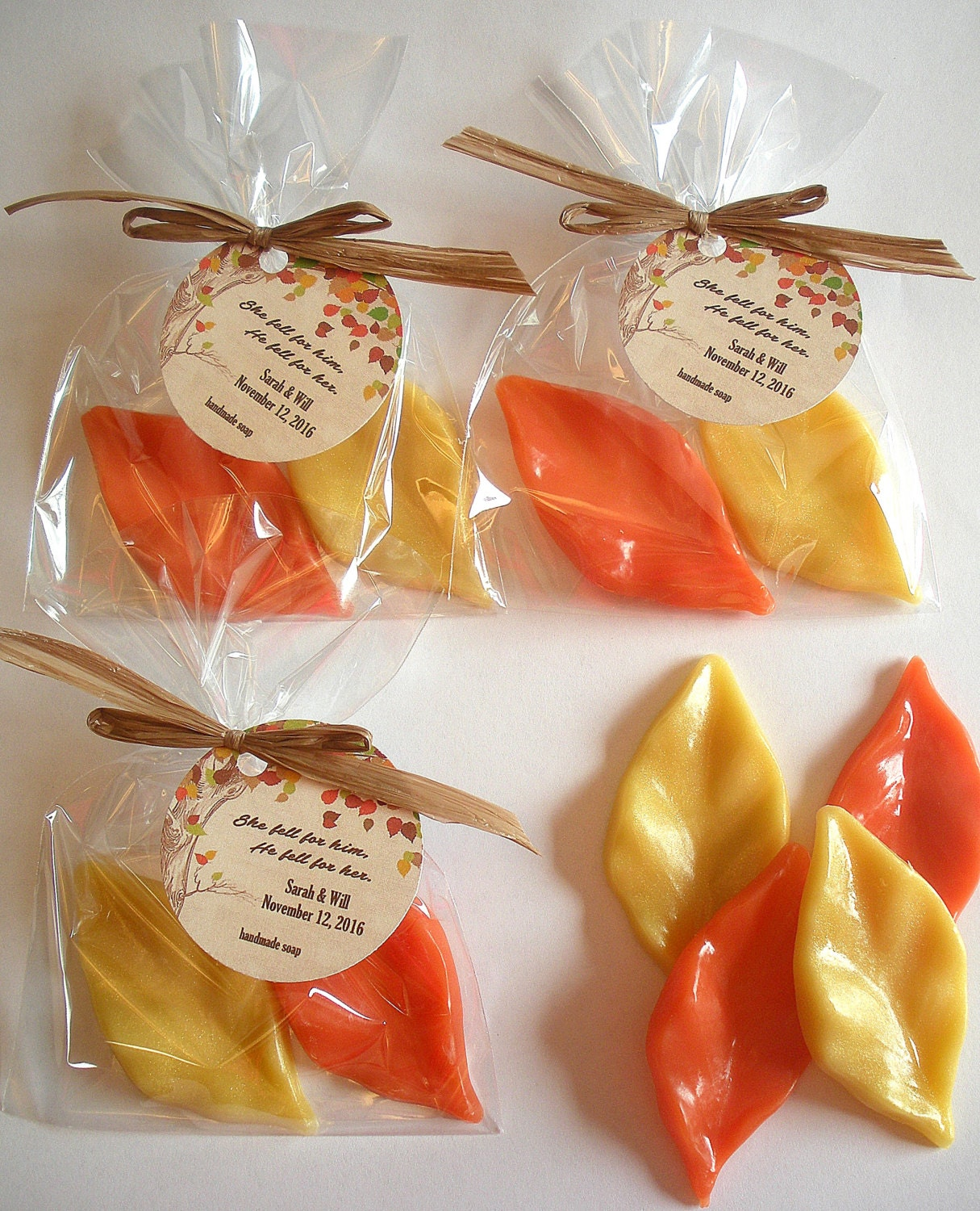 autumn leaves baby shower favors leaf shower favors fall