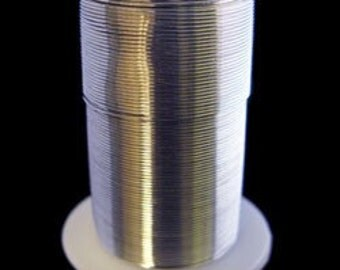 Tarnish Resistant Wire Silver Color 16ga 8yd Spool