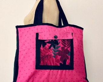CLEARENCE SALE Large Canvas Tote Bag
