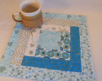 Quilted Hot Pad / Table Topper