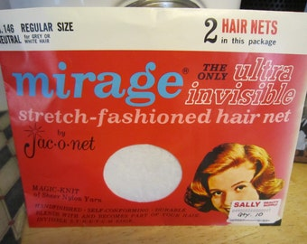Mirage Jac-o-net Hair nets 10 White