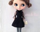 rêve de Rui - Le Petit Glamour - victorian collared see-through dress