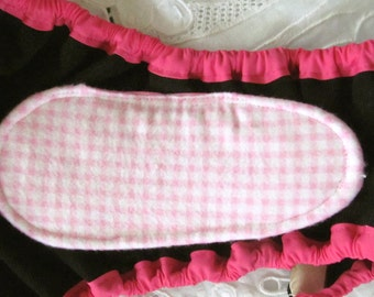 5 Reusable PADS for Dog Diapers Britches or Panties Lined with ZORB II and Antibacterial Bamboo