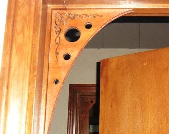 Victorian art-deco laser-cut archetectual corner/doorway/window pieces