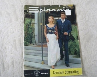 Knitting Supplies Spinnerin Pattern Booklet 1964 Volume 173 Serenely Stimulating