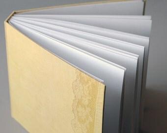 Chamomile Yellow Linen & Lace Album