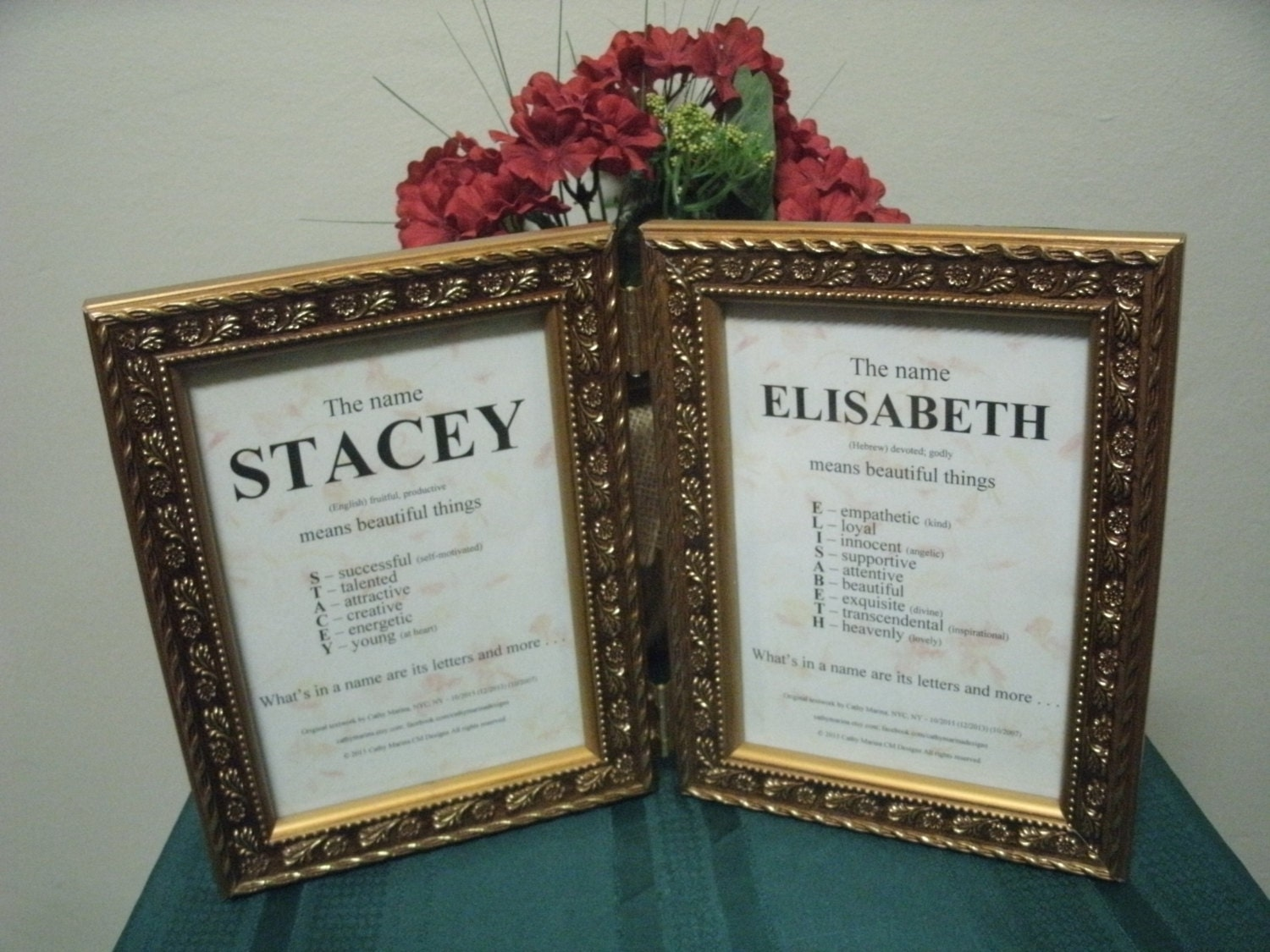 double framed name meaning personalized name meaning rustic. Black Bedroom Furniture Sets. Home Design Ideas