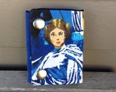 Star Wars Princess Leia 3 Fold Chain Wallet Recycled