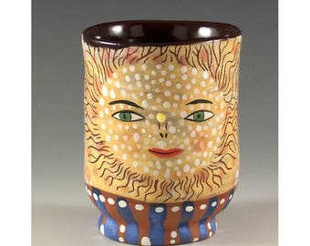 Exquisite Yunomi - Ceramic Cup by Jenny Mendes