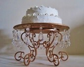 "Rose Gold 14""Chandelier Cake Stand MADE TO ORDER"