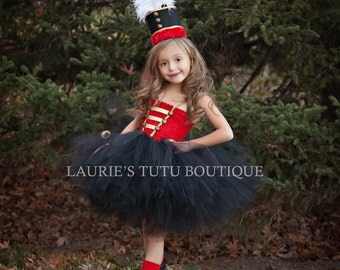 Holiday Nutcracker Tutu Dress & Hat