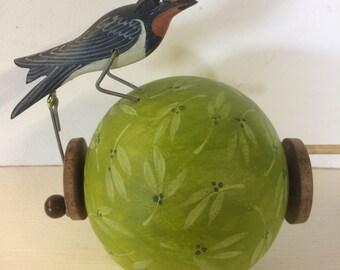 Pecking swallow