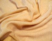 "21"" x 58"" Nude Gold Metallic Slinky Spandex Fabric plus BONUS 13"" x 24"""