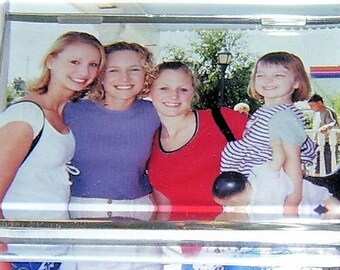 CLEAR ACRYLIC PAPERWEIGHT for Photos, Awards, Favorite Quotes, etc.