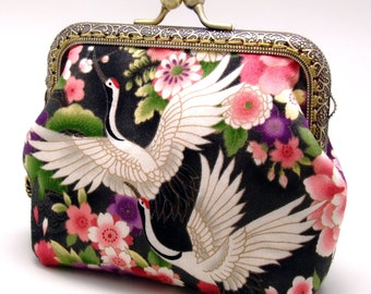 Crane - Small clutch / Coin purse (S-295) R0