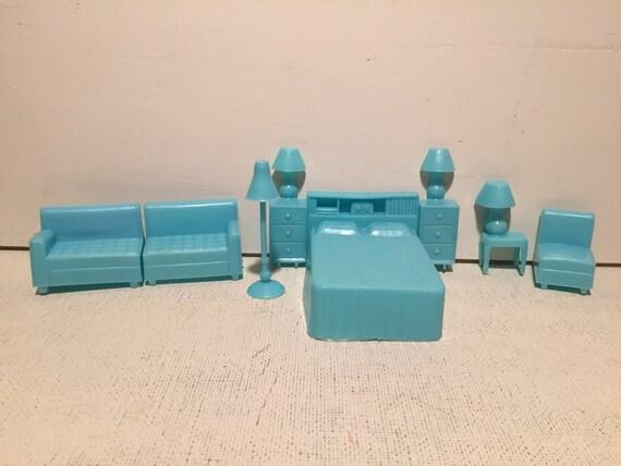 Vintage 1960 39 S Plastic Surerior Dollhouse Furniture