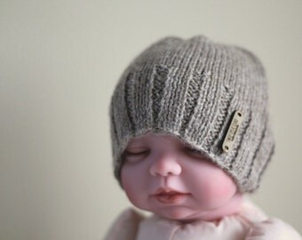 Baby Hat - Baby Alpaca Hat, Ready to Ship
