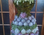 RESERVED For Lisa, 120 Succulents For Your Dressform Project
