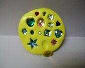 Set of 15 Gem Stones Jewels Bling Designs Food Grade Silicone Molds
