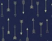 Michael Miller - Arrow Flight Collection - Arrows in Midnite Metallic