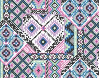 SALE - Blend Fabrics - Dream Catcher Collection - Dream Catcher in Purple