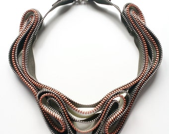 Liquid Zipper Necklace