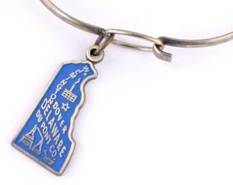 Delaware Love Charm Bracelet or Necklace