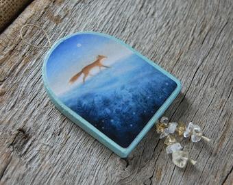 Fox - Handmade Ornament/Hanger