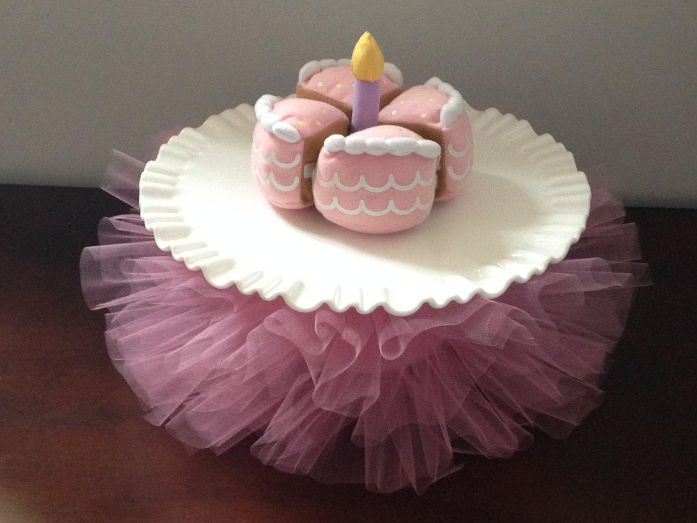 Cake Plate Tutus Cake Decorations Cake Plate Skirt Birthday