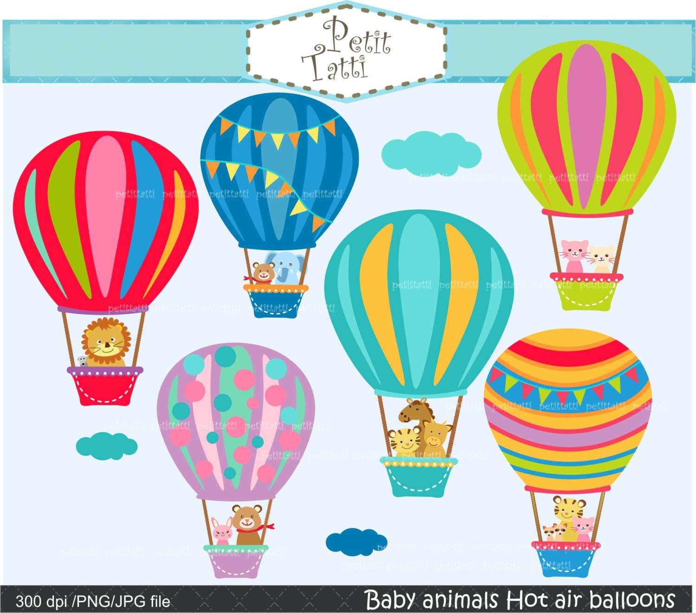 On sale hot air balloon clip art hot air balloons clip - Globos aerostaticos infantiles ...