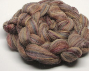 Merino Wool Roving  Sandalwood 4 ounces