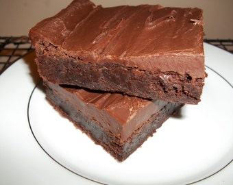 Dangerously Fudgy Brownies