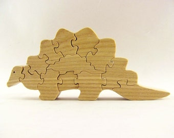 Dinosaur Wood Puzzle