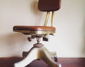 Antique Shaw Walker Chair
