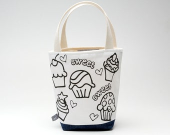 Color Me Mimi Tote, Cupcake Party
