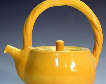 Teapots handmade porcelain teapots ,tea service unique  porcelain colour teapots