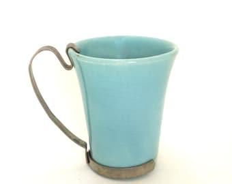 coffee anyone  ...   vintage  diner mug   ...  bauer moderne cup