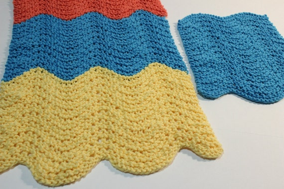 Knitting Pattern, Knit Patterns for Dishcloths, Knitted ...
