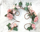 Woodland Fairy Fantasy,Wedding flower garland arm finger floral wraps,Hand made in Canada