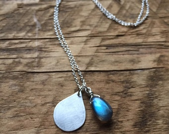 Sterling Silver Water Protector Necklace