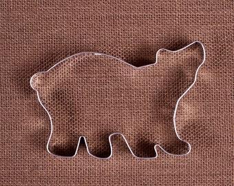 Polar Bear Cookie Cutter, Jumbo Bear Cookie Cutter, Christmas Cookie Cutter, Metal Cookie Cutters, Large Cookie Cutters, Bear Biscuit Cutter