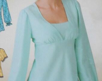 Tunic Sewing Pattern UNCUT Simplicity 3842 Sizes 8-18