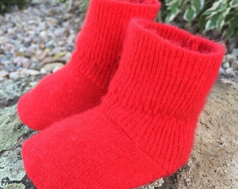 Cashmere Baby Booties 0-6mo.