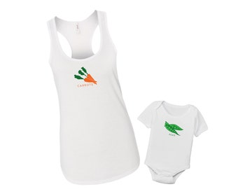 Peas and Carrots - Mommy & Me Baby Matching Shirt Set
