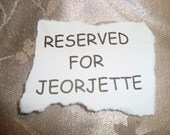 RESERVED FOR JEORJETTE Mosaic Light Switch Plate Cover and Outlet Cover