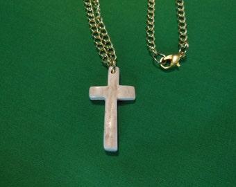 Deer Antler Cross Necklace Lot 24 small
