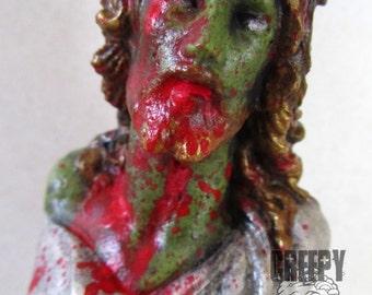 Zombie Jesus re-purposed statue